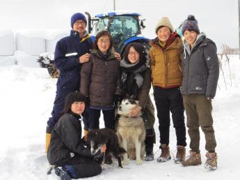東京から日本最北端猿払村へ新規入植。とにかく牛が大好きな酪農家です!【寮あり・朝食付き】