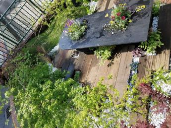 """緑を通じてお客様の""""笑顔""""をつくりましょう! 「植物が好き」「木登りが好き」な方お待ちしています!"""