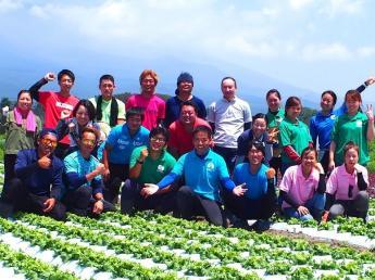 """=2020年新卒生対象求人=農業をもっと楽しく。野菜をもっと美味しく。みんなに喜ばれる農場を創る。 こんな気持ちに共感して下さる方はいませんか? 従業員を大切にする会社で""""自分らしく""""働きましょう!"""