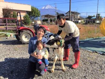 富士山の麓・静岡県富士宮市での農業体験♪野菜にも畜産にも興味のある方にお勧めです☆