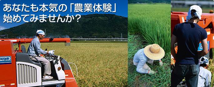 あなたも本気の「農業体験」始めてみませんか?